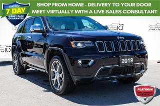 Used 2019 Jeep Grand Cherokee Limited 4X4   LEATHER INTERIOR   ALPINE SOUND for sale in Innisfil, ON