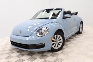 Used 2014 Volkswagen Beetle Convertible 2.5L *COMFORTLINE *CONVERTIBLE *CUIR/LEATHER for sale in Saint-Hubert, QC