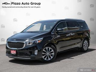 Used 2016 Kia Sedona SX   BLIND SPOT   BACKUP CAM   FINANCE ME for sale in Richmond Hill, ON