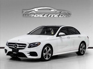 Used 2018 Mercedes-Benz E-Class E 300 4MATIC Intelligent Safety Pkg, HUD, Blind Spot, Clean for sale in Concord, ON
