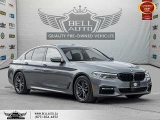 Used 2017 BMW 5 Series 540i xDrive, AWD, M-SPORT PKG, HEADS-UP DIS, NAVI, 360CAM for sale in Toronto, ON