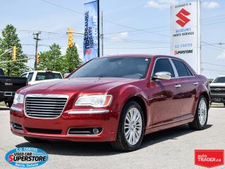 Used 2012 Chrysler 300 C AWD ~HEMI ~Nav ~Cam ~Heated/Cooled Leather for sale in Barrie, ON