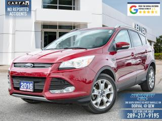 Used 2016 Ford Escape Titanium for sale in Oakville, ON