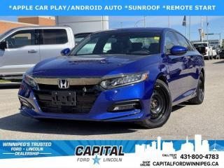 Used 2018 Honda Accord Sedan SPORT 2.0 for sale in Winnipeg, MB