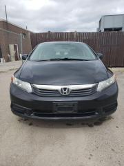 Used 2012 Honda Civic EX for sale in Etobicoke, ON