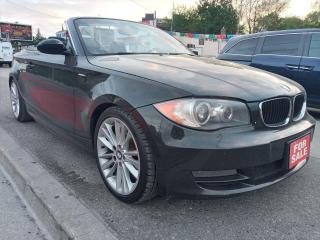 Used 2008 BMW 128I 128i-COVERTIBLE-145K-RARE-BLUETOOTH-AUX-ALLOYS for sale in Scarborough, ON