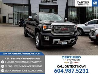 Used 2016 GMC Sierra 3500 HD Denali MOONROOF - NAVIGATION - LEATHER - HEATED SEATS for sale in North Vancouver, BC