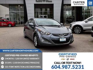 Used 2016 Hyundai Elantra Sport Appearance for sale in North Vancouver, BC