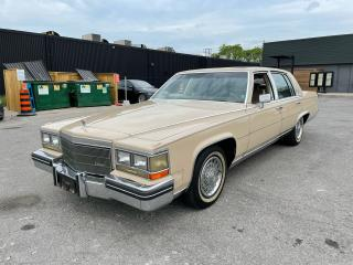 Used 1985 Cadillac Fleetwood Brougham for sale in North York, ON
