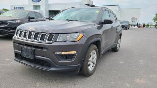 Used 2017 Jeep Compass Sport - SEAT & WHEEL HEAT, MANUAL TRANSMISSION for sale in Kingston, ON