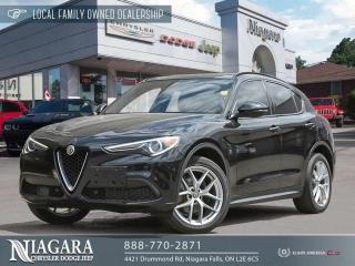 Used 2018 Alfa Romeo Stelvio Ti | PANORAMIC ROOF/NAVIGATION for sale in Niagara Falls, ON