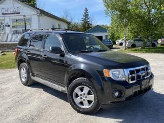 Used 2011 Ford Escape No-Accidents LOW KMS 4WD V6 XLT LEATHER Power Group A/C for sale in Sutton, ON