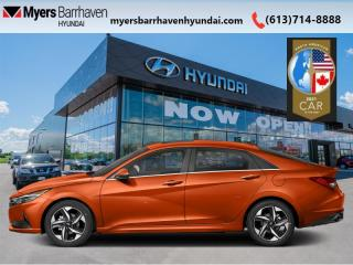 New 2021 Hyundai Elantra Ultimate  Tech IVT  - Leather Seats - $194 B/W for sale in Nepean, ON