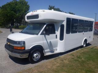 Used 2014 Chevrolet Express G4500 22 Passenger Bus With Wheelchair Accessibility for sale in Burnaby, BC
