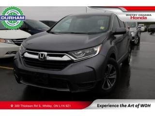 Used 2019 Honda CR-V LX FWD | CVT | Android Auto/Apple CarPlay for sale in Whitby, ON