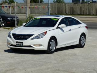 Used 2011 Hyundai Sonata LIMITED,LEATHER,NO-ACCIDENT,CERTIFIED,FULLY LOADED for sale in Mississauga, ON