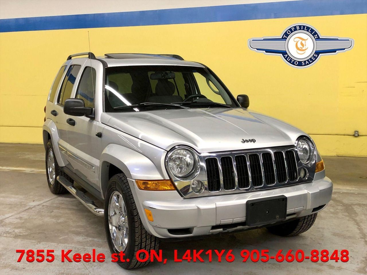 2006 Jeep Liberty Limited AWD Sunroof, 2 Years Warranty