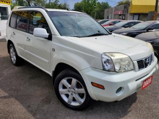 Used 2006 Nissan X-Trail 4WD/AUTO/LEATHER/ROOF/LOADED/ALLOYS for sale in Scarborough, ON