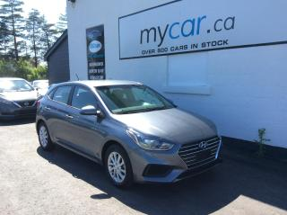 Used 2019 Hyundai Accent Preferred HEATED SEATS, ALLOYS, APPLE CARPLAY, LOW KM!! for sale in Richmond, ON