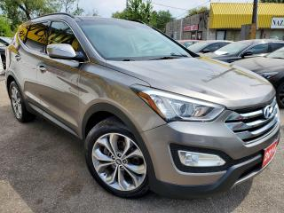 Used 2014 Hyundai Santa Fe Sport Limited/AWD/NAVI/CAMERA/LEATHER/ROOF/LOADED/ALLOYS for sale in Scarborough, ON