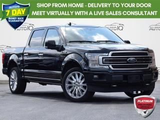 Used 2019 Ford F-150 Limited DUAL A/C  | 4X4 | 3.5 L V6 | TRAILER TOW PACKAGE | REVERSE CAMERA SYSTEM | POWER HEATED VENTED SEATS for sale in Waterloo, ON