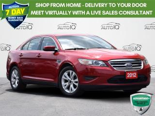 Used 2012 Ford Taurus SEL FWD   A/C   POWER MIRRORS   POWER WINDOWS for sale in Waterloo, ON