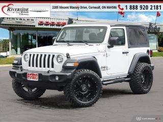 Used 2019 Jeep Wrangler SPORT for sale in Cornwall, ON