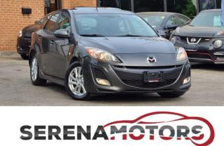Used 2010 Mazda MAZDA3 GS | 2.5L | 6 SPEED MANUAL | SUNROOF | NO ACCIDENT for sale in Mississauga, ON