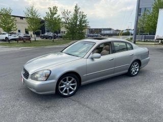 Used 2004 Infiniti Q45 Navi., Low KM, Backup Cam, Leather, Sunroof, for sale in Toronto, ON