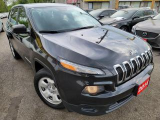 Used 2014 Jeep Cherokee Sport/4WD/AUTO/LOADED/ALLOYS for sale in Scarborough, ON