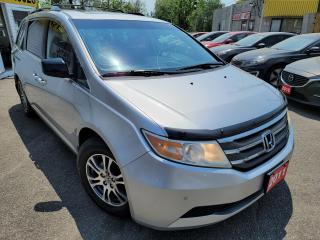 Used 2011 Honda Odyssey EX-L/CAMERA/LEATHER/ROOF/LOADED/ALLOYS for sale in Scarborough, ON