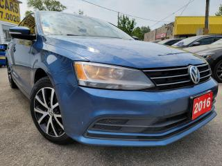 Used 2016 Volkswagen Jetta comfortline/AUTO/P.ROOF/LOADED/ALLOYS for sale in Scarborough, ON