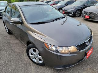 Used 2010 Kia Forte EX w.Sunroof/AUTO/P.ROOF/LOADED/ALLOYS for sale in Scarborough, ON