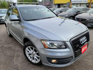 Used 2010 Audi Q5 3.2L Premium/NAVI/CAMERA/LEATHER/ROOF/LOADED/ALLOY for sale in Scarborough, ON