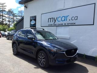 Used 2018 Mazda CX-5 GT LEATHER, SUNROOF, NAV, HEATED SEATS, BACKUP CAM!! for sale in Richmond, ON