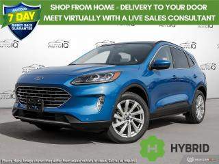 New 2021 Ford Escape Titanium Hybrid for sale in Kitchener, ON