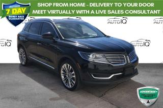 Used 2016 Lincoln MKX AWD 4DR RESERVE for sale in Sault Ste. Marie, ON