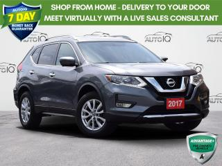 Used 2017 Nissan Rogue BLUETOOTH | DUAL A/C | POWER LIFTGATE | HEATED SEATS | PANORAMIC MOONROOF for sale in Waterloo, ON