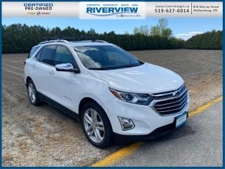 Used 2018 Chevrolet Equinox Premier One Owner | No Accidents | Heated Seats | Roof Rack for sale in Wallaceburg, ON