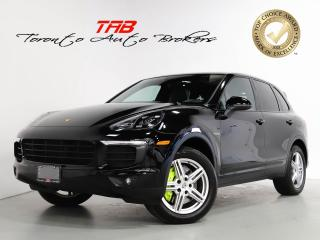 Used 2017 Porsche Cayenne S E-HYBRID I PREM PLUS PKG I NAVI I PANO I CAM for sale in Vaughan, ON