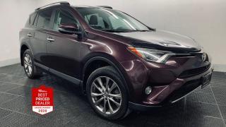 Used 2017 Toyota RAV4 AWD LIMITED *NAV - HEATED LEATHER - SUNROOF* for sale in Winnipeg, MB