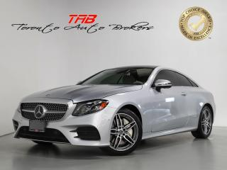 Used 2018 Mercedes-Benz E-Class E400 AMG COUPE I SUNROOF I 360 CAM I CLEAN CARFAX for sale in Vaughan, ON