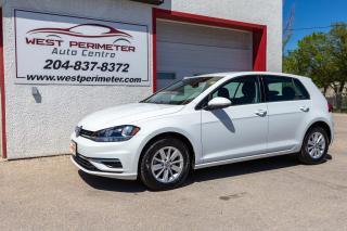 Used 2019 Volkswagen Golf Comfortline 5-door * Heated Seats * B/Up Cam * Key for sale in Winnipeg, MB