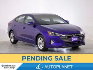 Used 2020 Hyundai Elantra Preferred, Sun & Safety Pkg, Back Up Cam,Bluetooth for sale in Brampton, ON