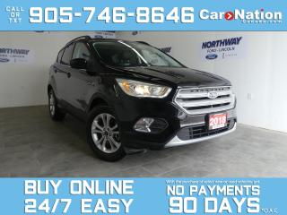 Used 2018 Ford Escape SEL | 4X4 | LEATHER | PANO ROOF | NAV for sale in Brantford, ON