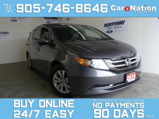Used 2016 Honda Odyssey EX-RES | DVD PLAYER | TOUCHSCREEN | POWER DOORS for sale in Brantford, ON
