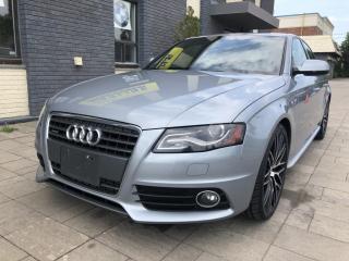 Used 2012 Audi A4 Sdn Auto quattro 2.0T Premium for sale in Nobleton, ON