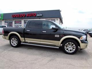 Used 2015 RAM 1500 Laramie Longhorn Crew Cab Diesel 4WD Navi Certified for sale in Milton, ON