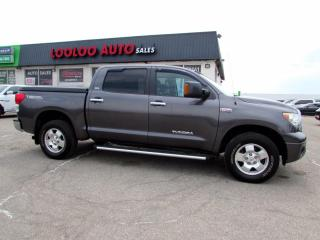 Used 2013 Toyota Tundra Tundra-Grade CrewMax 5.7L 4WD Certified for sale in Milton, ON