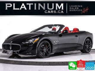 Used 2016 Maserati GranTurismo S 4.7 CONVERTIBLE, 454HP V8, NAV, CAM for sale in Toronto, ON